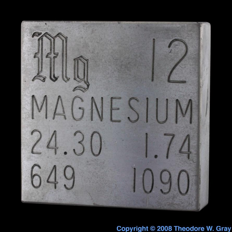 Facts pictures stories about the element magnesium in the magnesium engraved plate gamestrikefo Gallery