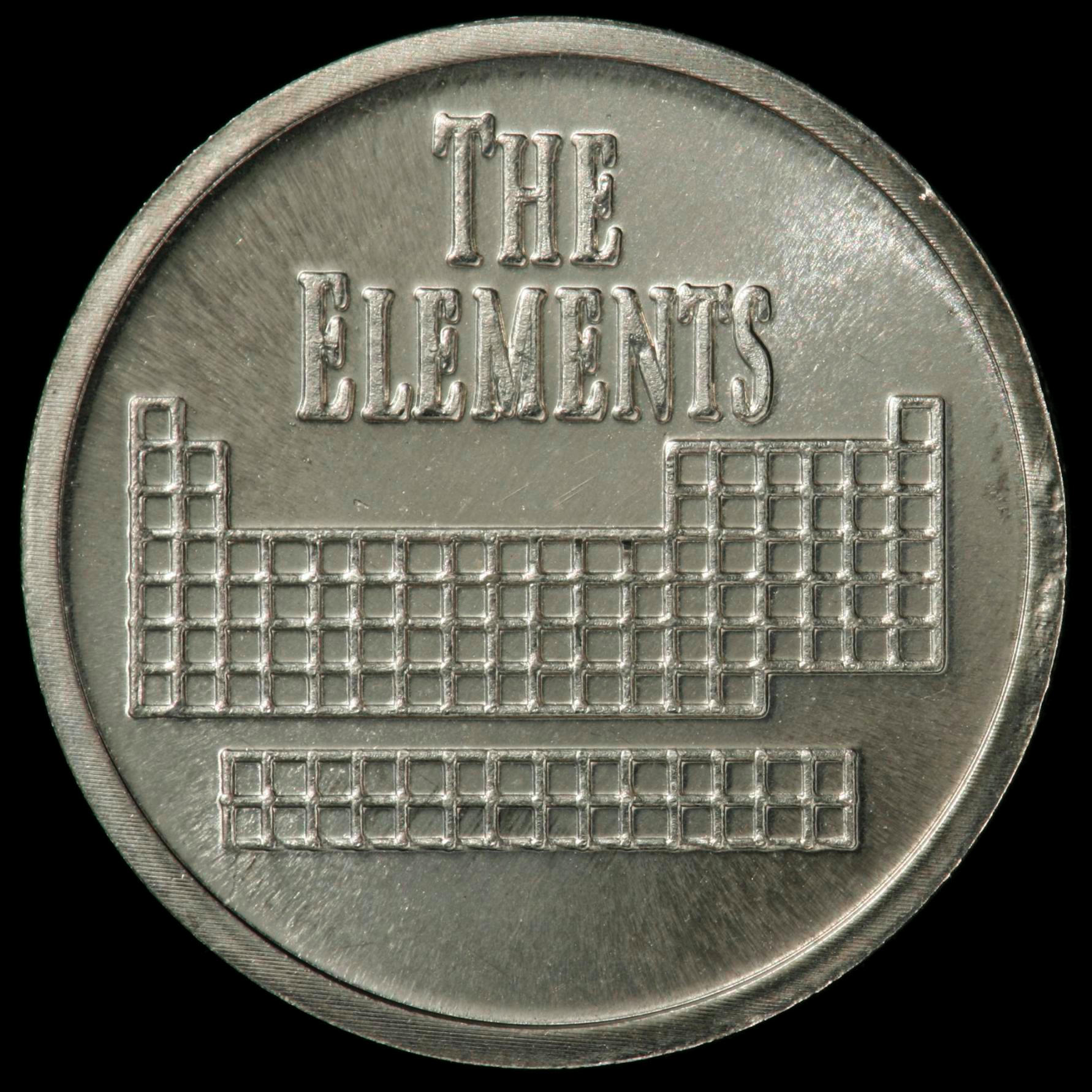 Sample Of The Element Nickel In The Periodic Table
