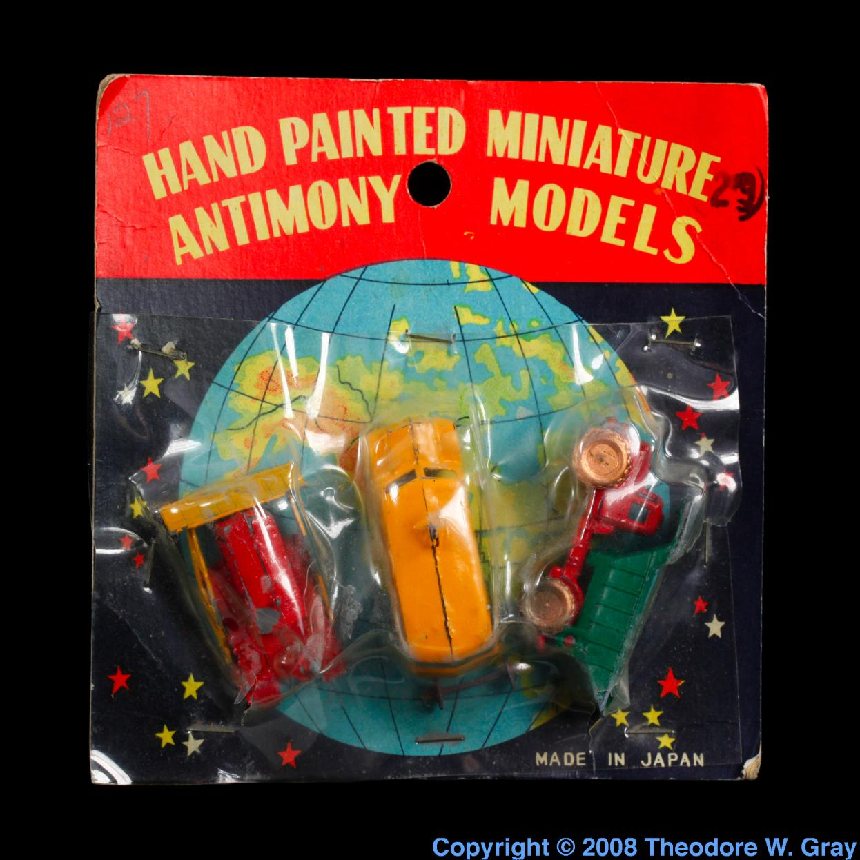 Facts pictures stories about the element antimony in the antimony hand painted miniature antimony models gamestrikefo Image collections