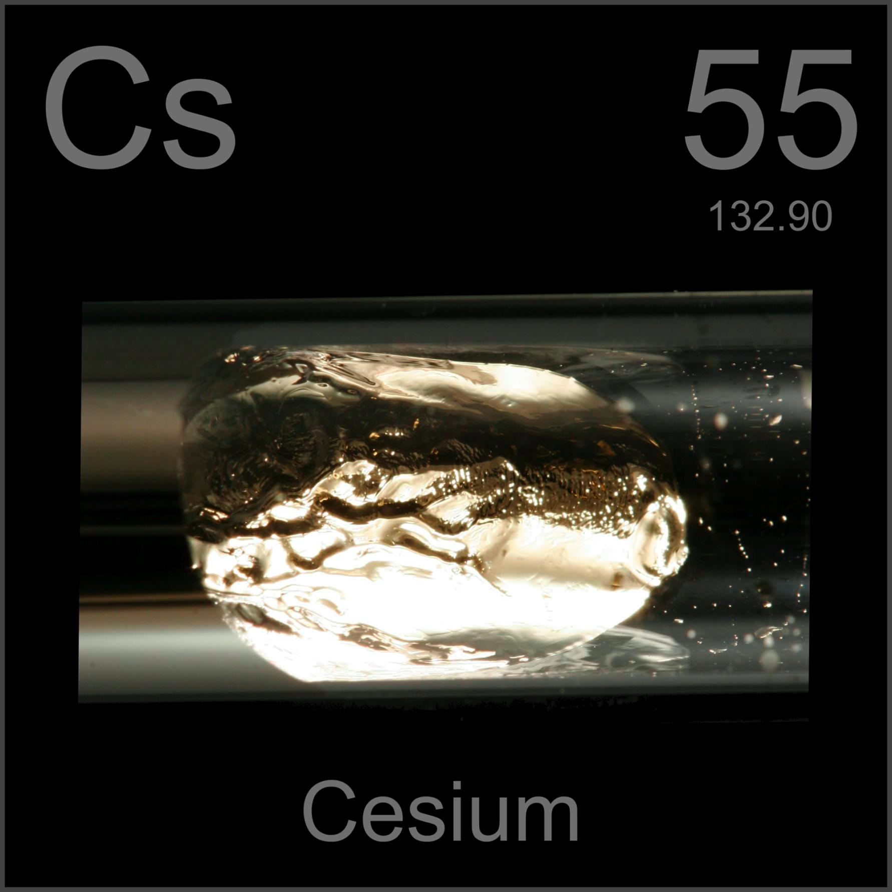 Facts pictures stories about the element cesium in the periodic cesium sealed glass ampule 9998 gamestrikefo Image collections