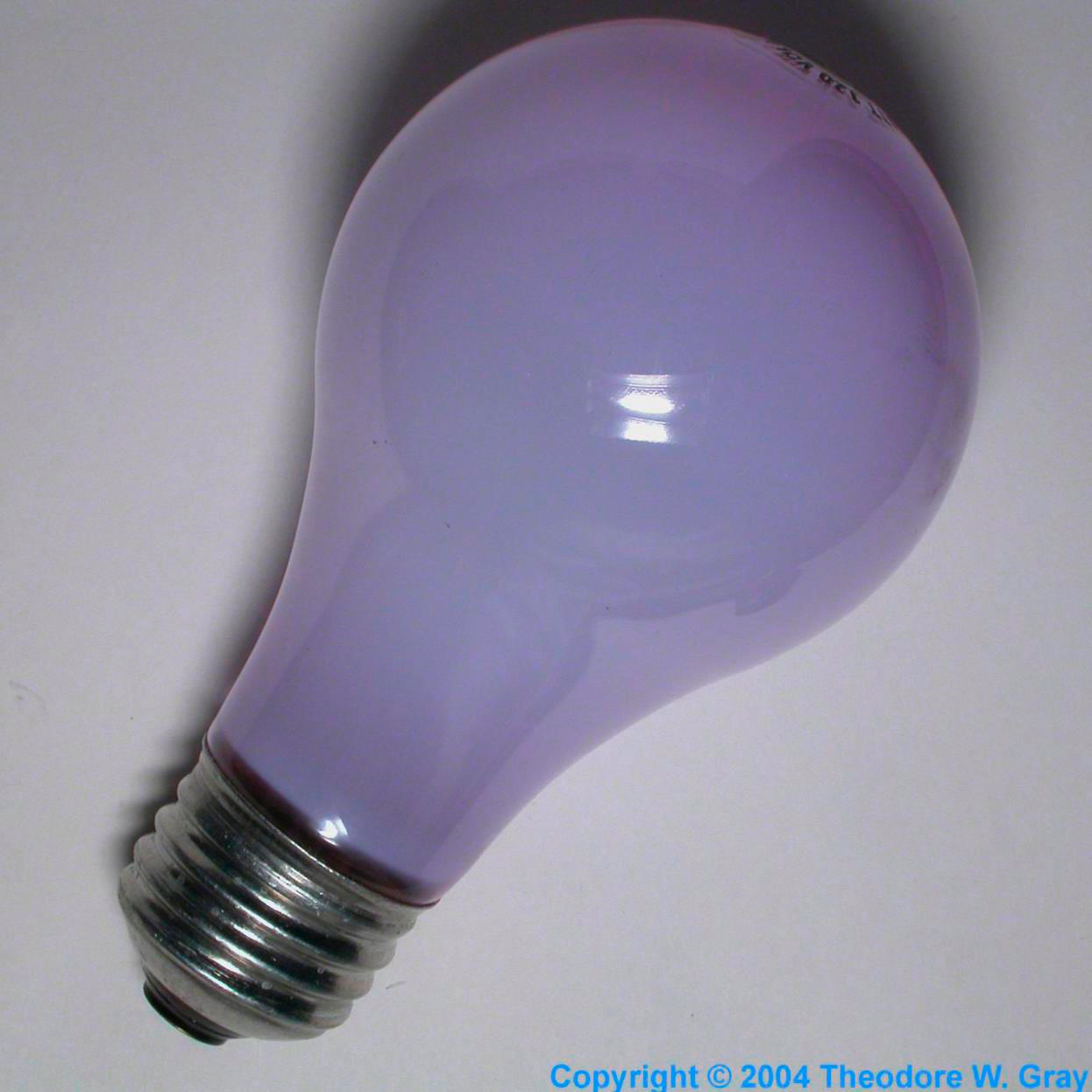 Facts, pictures, stories about the element Neodymium in the ...:Neodymium Daylight incandescent bulb,Lighting