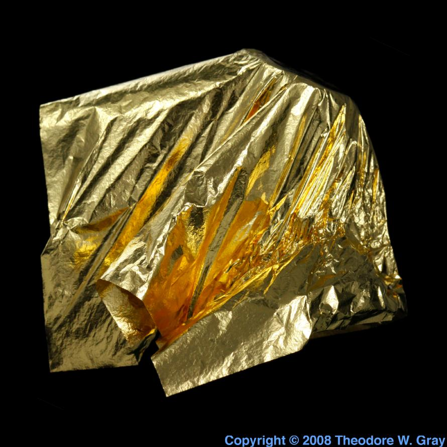 Facts, pictures, stories about the element Gold in the Periodic Table