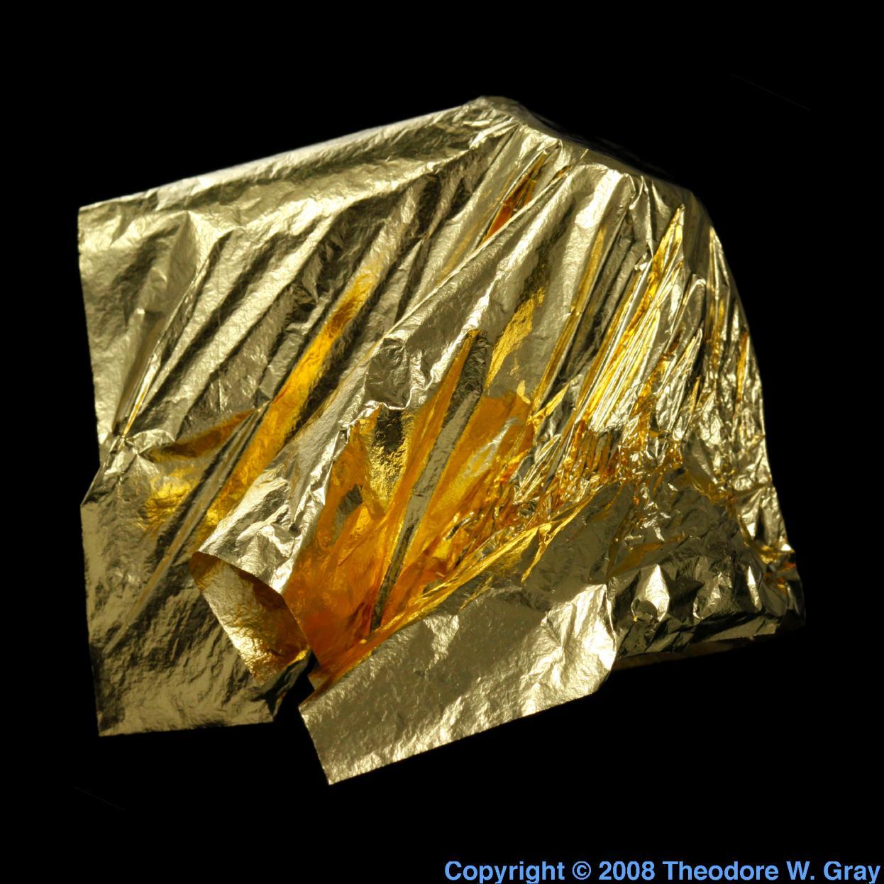 gold au periodic table