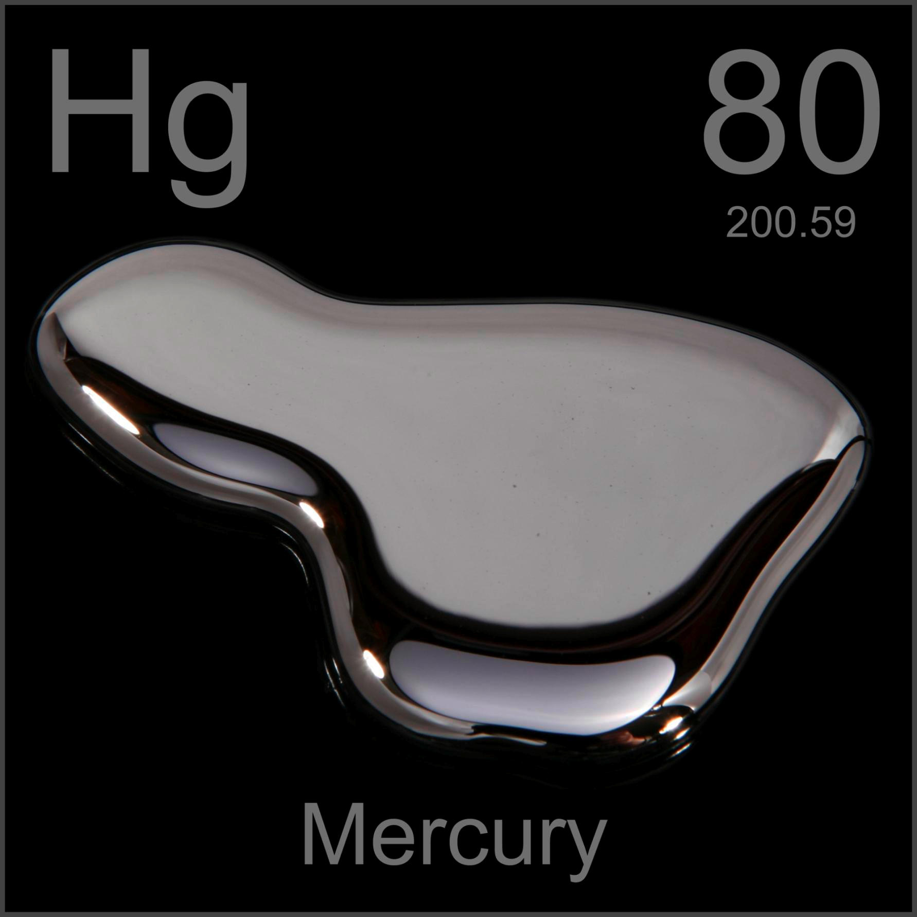 Sample of the element mercury in the periodic table mercury poster sample gamestrikefo Gallery