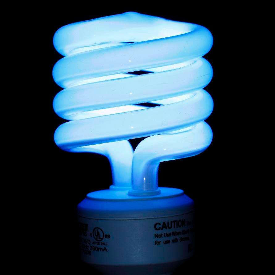 Tanning Light Bulb: Mercury Compact fluorescent bulb,Lighting