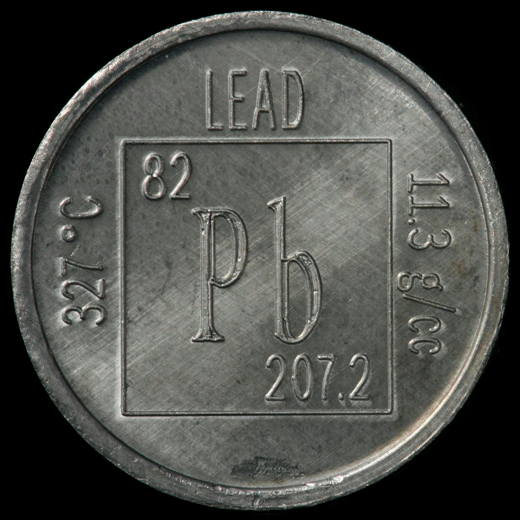 Sample Of The Element Lead In The Periodic Table