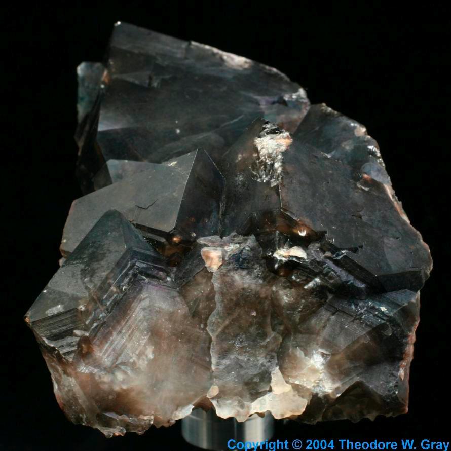 Sample of the element calcium in the periodic table calcium medium fluorite gamestrikefo Images