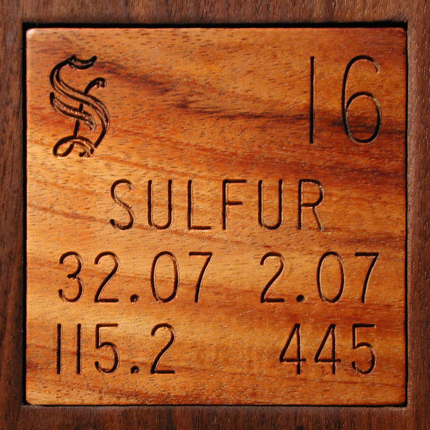 Facts, pictures, stories about the element Sulfur in the ...