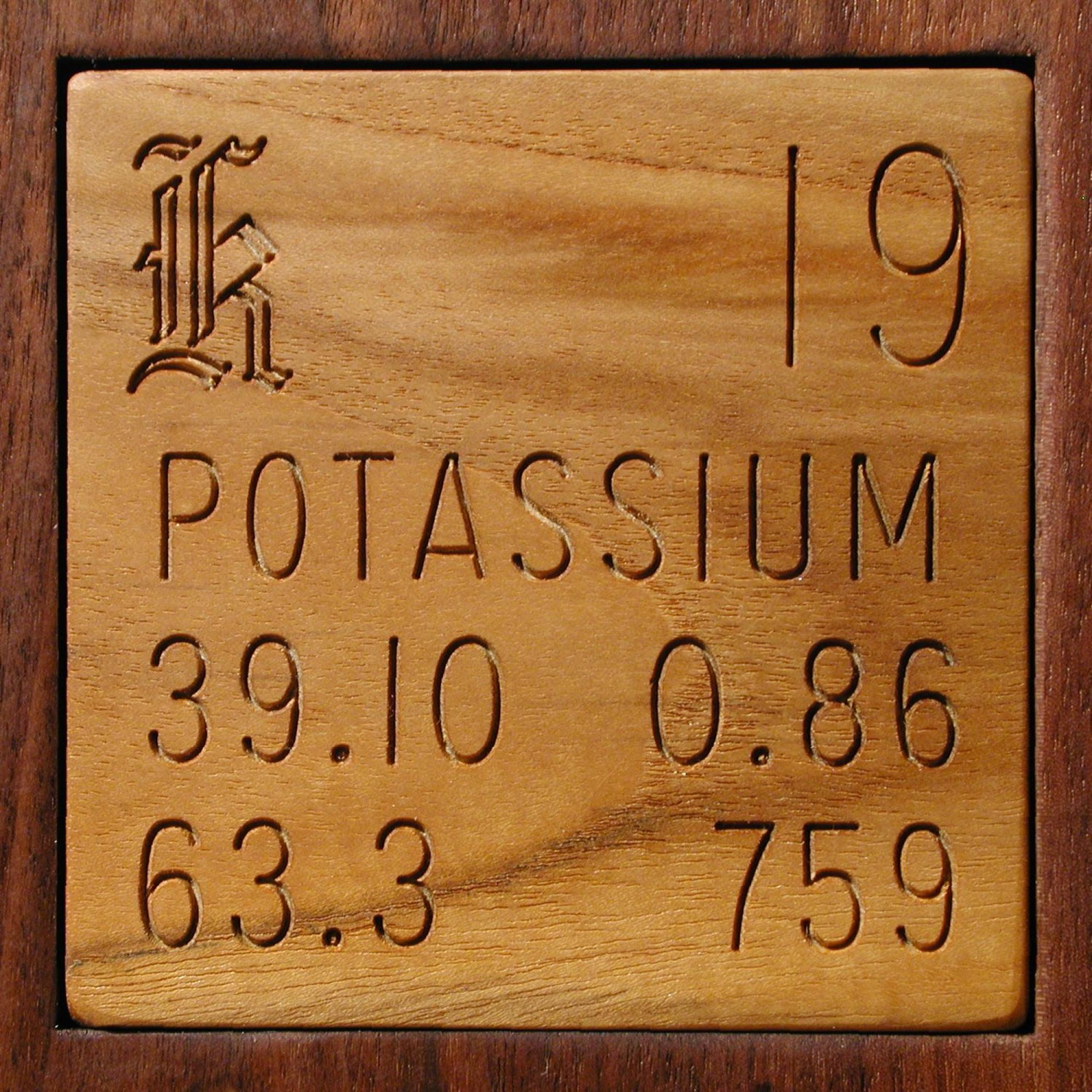 Facts pictures stories about the element Potassium in the
