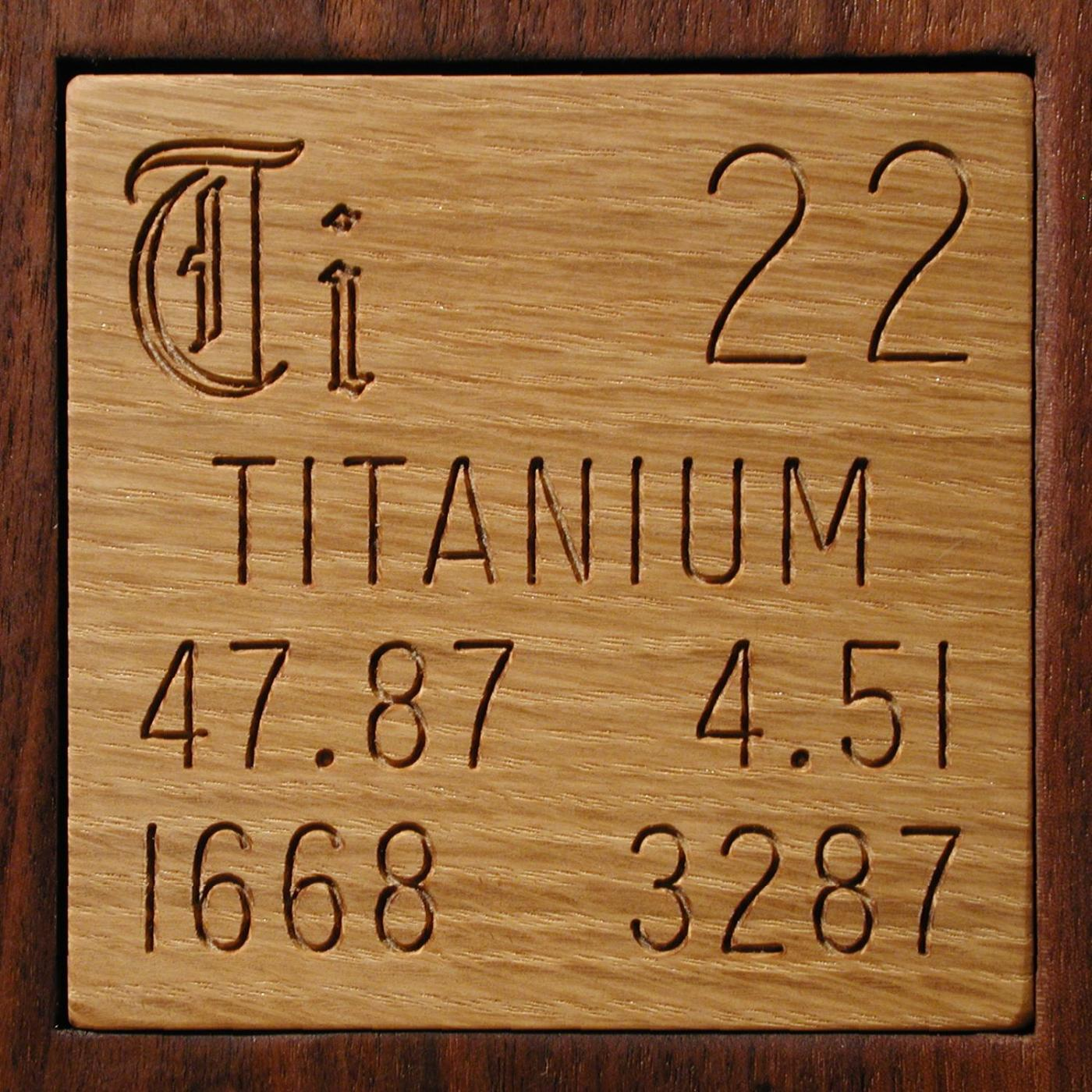 Samples from theodore gray 1369 in the periodic table titanium urtaz Choice Image