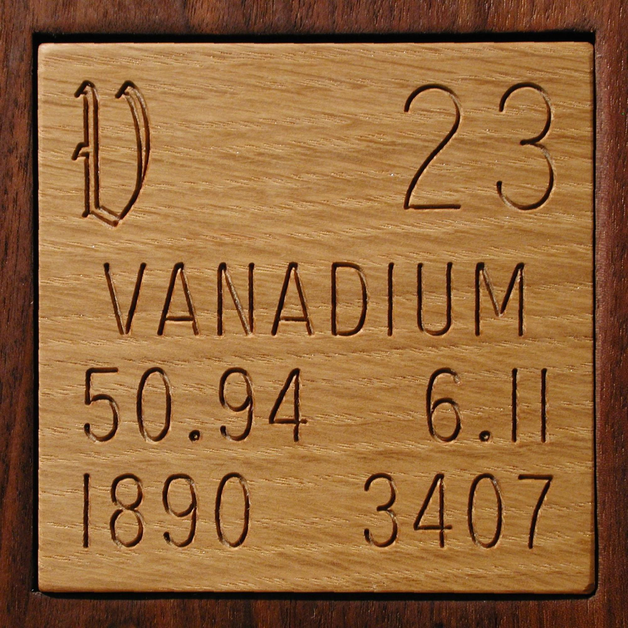 Facts, pictures, stories about the element Vanadium in the ...