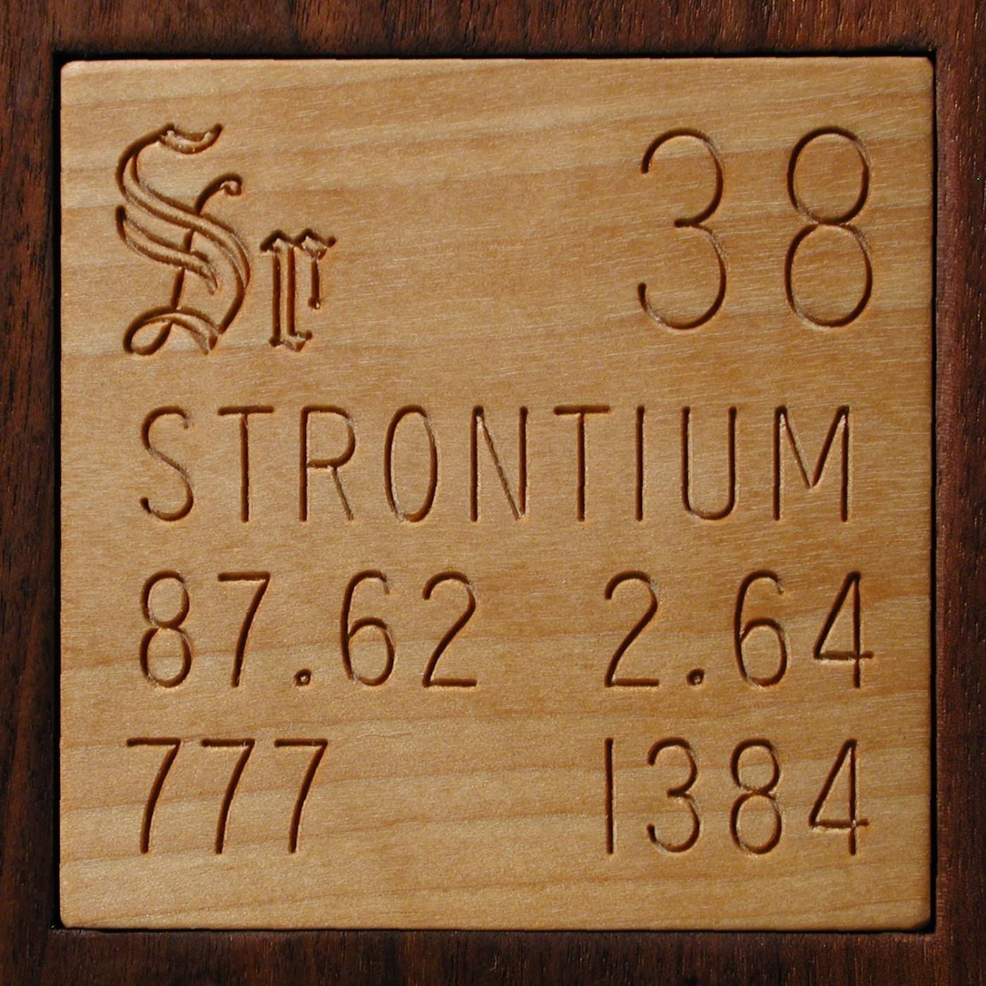 Samples from by tom lehrer 108 in the periodic table strontium gamestrikefo Image collections
