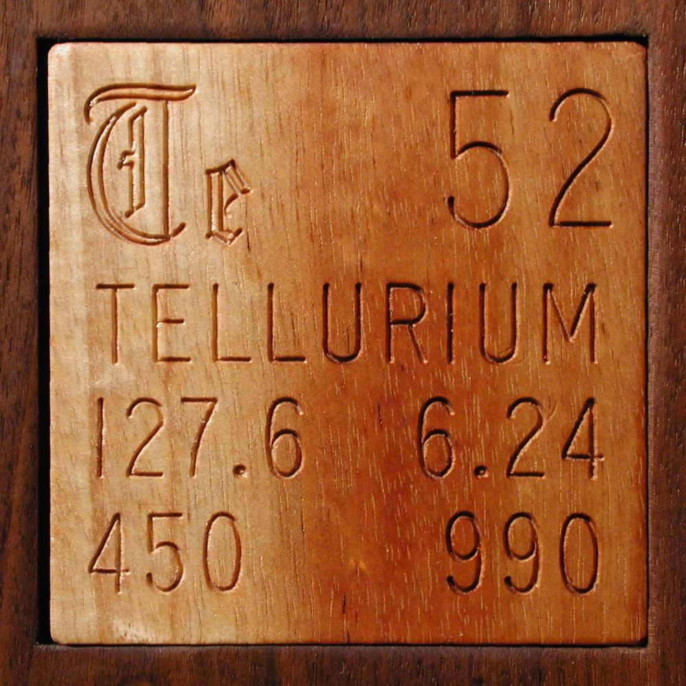 Facts pictures stories about the element tellurium in the facts pictures stories about the element tellurium in the periodic table gamestrikefo Gallery