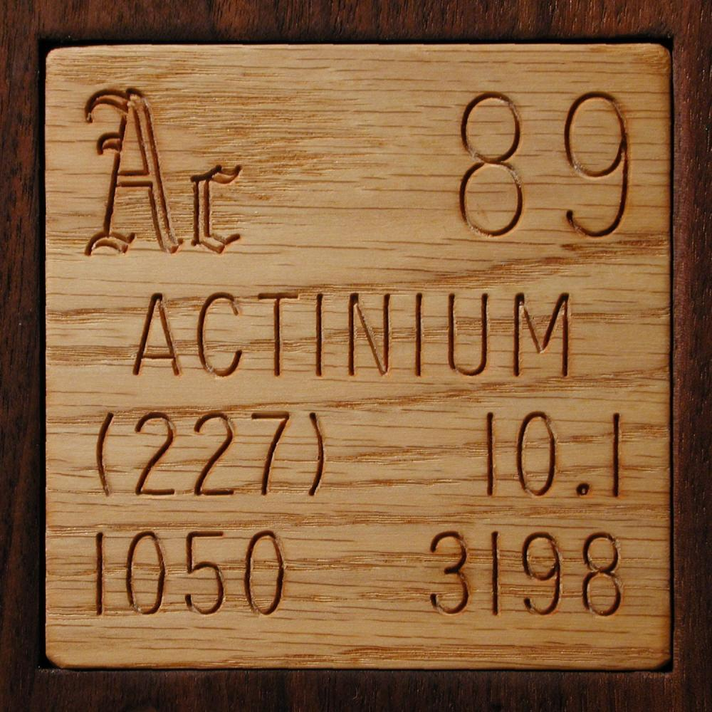 Facts, pictures, stories about the element Actinium in the