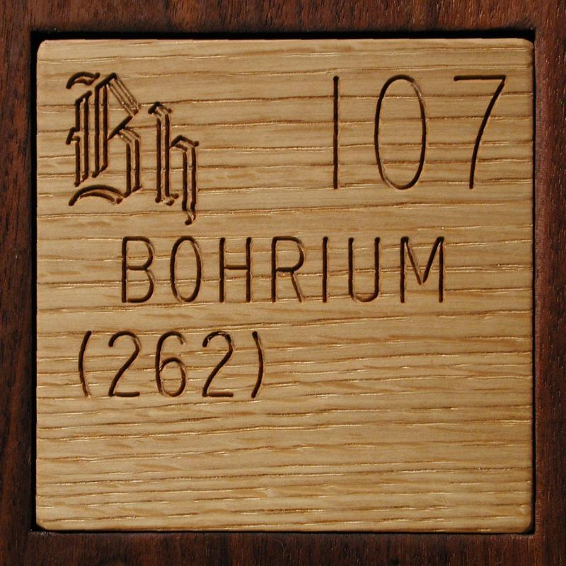 Facts pictures stories about the element bohrium in the periodic my periodic table poster is now available urtaz Choice Image